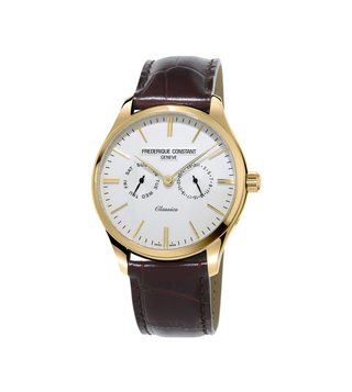 Frederique Constant FC-259ST5B5 Silver Analog Watch For Men