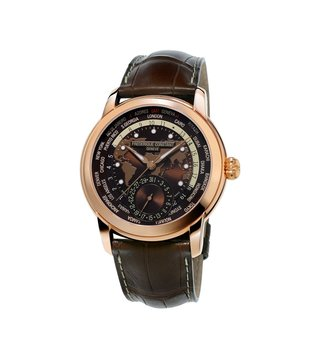 Frederique Constant FC-718BRWM4H4 Brown Analog Watch For Men