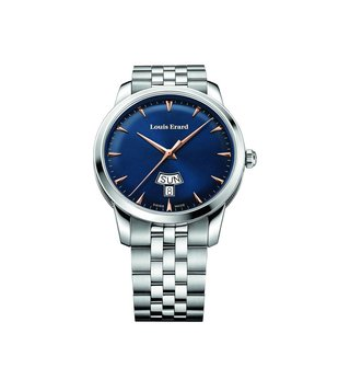 Louis Erard 15920AA15.BMA39 Blue Analog Watch For Men