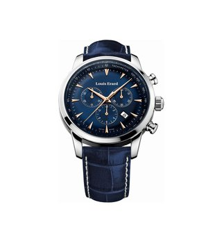 Louis Erard 13900AA15.BDC102 Blue Analog Watch For Men