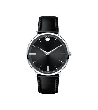 Movado 607086 Black Analog Watch For Men