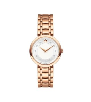 Movado 607100 Silver Analog Watch For Women