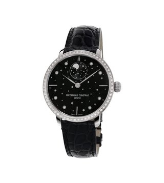 Frederique Constant FC-701BSD3SD6 Black Analog Watch For Women