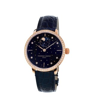 Frederique Constant FC-701NSD3SD4 Blue Analog Watch For Women