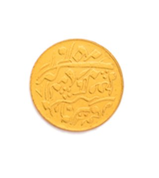 KESYA Gold Mohar Textured Buttons (Set Of 13)