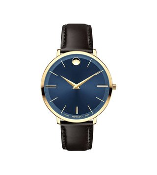 Movado 607092 Blue Analog Watch For Women