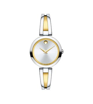 Movado 607150 Silver Analog Watch For Women