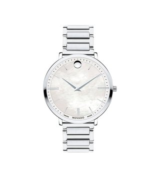 Movado 607170 Silver Analog Watch For Women