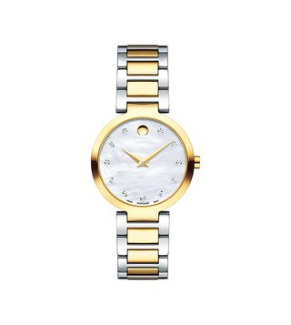 Movado 607103 Silver Analog Watch For Women