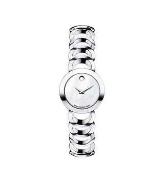Movado 606249 Silver Analog Watch For Women