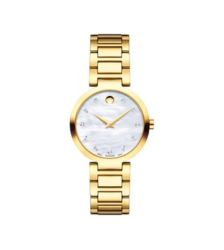 Movado 607105 Silver Analog Watch For Women