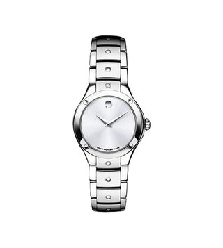 Movado 605792 Silver Analog Watch For Women