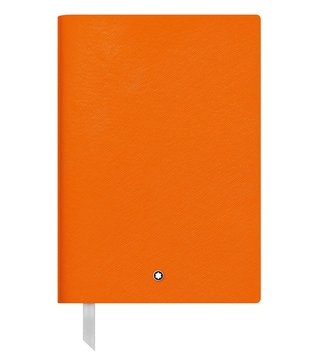 Montblanc Lucky Orange Lined Notebook 146
