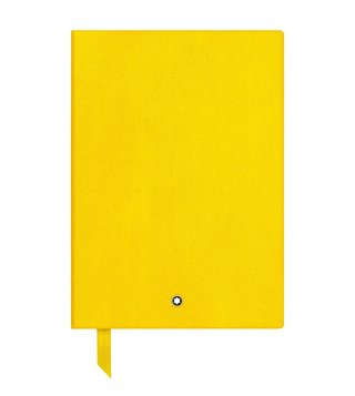 Montblanc Yellow Lined Notebook 146
