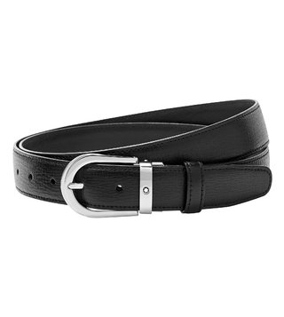 Montblanc Black Cut-To-Size Business Belt