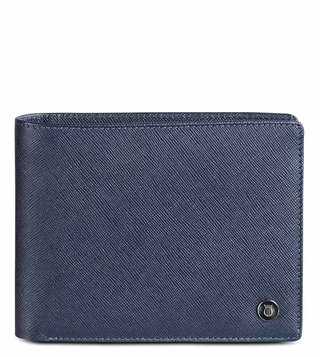 Lapis Bard Blue Stanford Bi-Fold Wallet With Coin Pouch