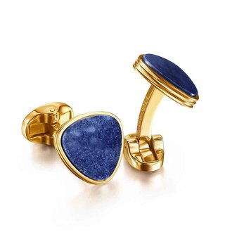 Lapis Bard Blue Avant Garde Preston Cufflinks