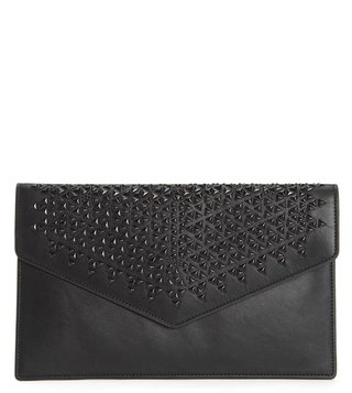 Juicy Couture Pitch Black Robertson Studded Clutch