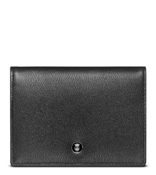 Lapis Bard Black Belgravia Card Holder Pouch