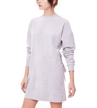 Juicy Couture Silver Lining Velour Shift Dress