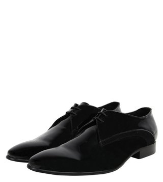 Dune London Black Pele Di Derby Shoes