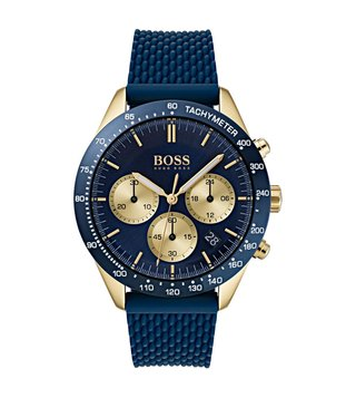 Hugo Boss 1513600 Blue Analog Watch For Men