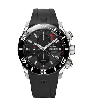 Edox 01114 3 NIN Black Analog Watch For Men