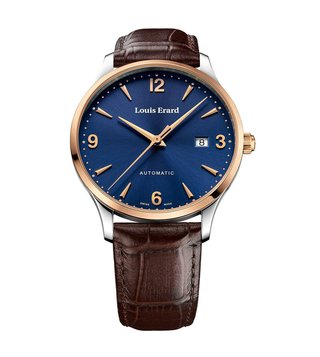 Louis Erard 69219AB15.BDC80 Blue Analog Watch For Men