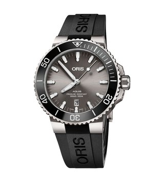 Oris 01 733 7730 7153-07 4 24 64TEB Grey Analog Watch For Men