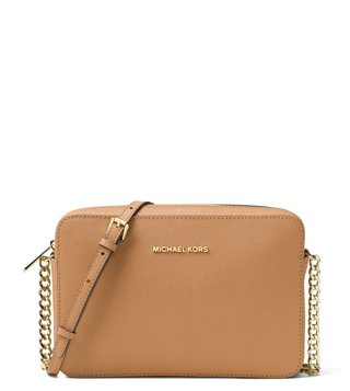 MICHAEL Michael Kors Acorn Jet Set Large Cross Body Bag