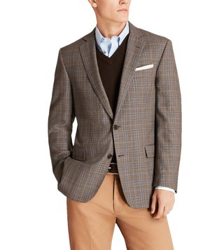 Brooks Brothers Brown & Blue Deco Sport Coat
