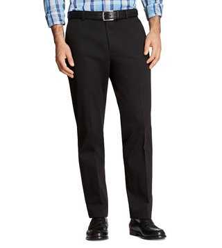 Brooks Brothers Black Stretch Marco Chinos