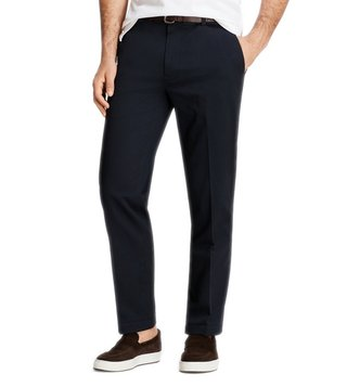 Brooks Brothers Navy Stretch New Marco Chinos