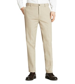 Brooks Brothers Khaki Stretch New Marco Chinos