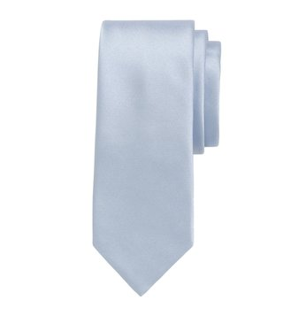Brooks Brothers Light Pastel Blue Formal Satin Slim Tie