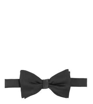 Brooks Brothers Black Butterfly Pre Tied Bow Tie