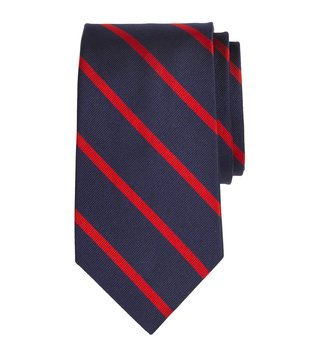 Brooks Brothers Navy & Red Striped BB3 Rep Tie