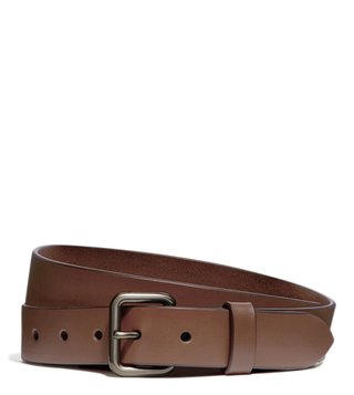 Coach Saddle Smooth Leather Waist Belt