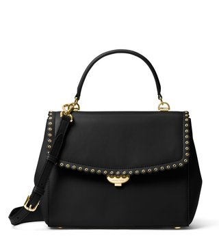 MICHAEL Michael Kors Black Ava Medium Satchel