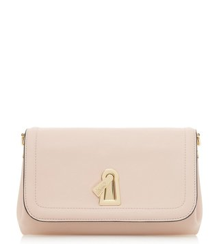 Dune London Beige Enzie Clutch