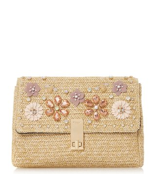 Dune London Natural Elitia Clutch