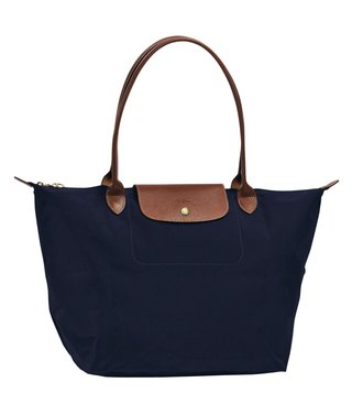 Longchamp Le Pliage Navy Large Tote