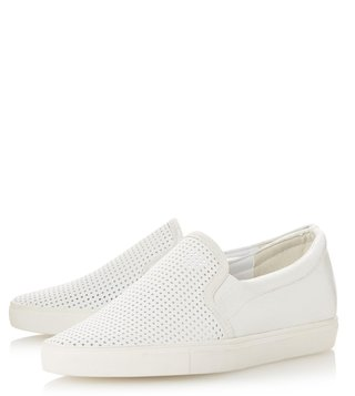 Dune London White Eclypse Sneakers