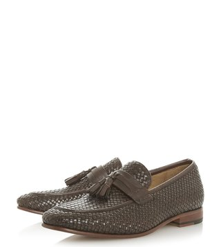 Dune London Brown Paolo Loafers