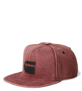 G-Star RAW Estan Dark Bordeaux Snapback Cap