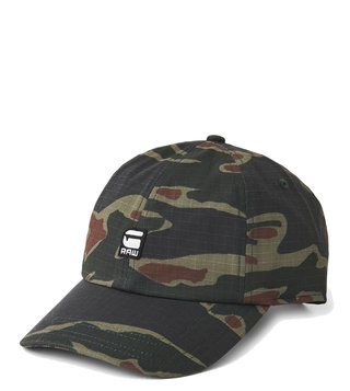 G-Star RAW Avernus Smoke Vermont Green Baseball Cap