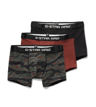 G-Star RAW Black, Bord & Smoke Tach Ao Trunks - Pack Of 3