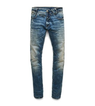 G-Star RAW Blue D-Staq 5-Pocket Skinny Fit Jeans