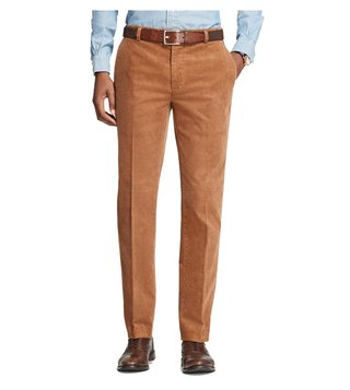 Brooks Brothers Medium Brown Milano Fit Trousers