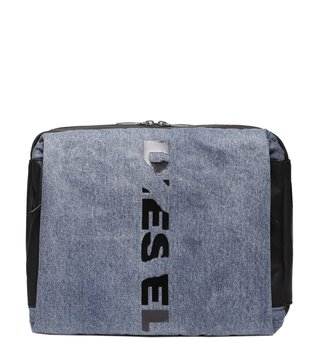 Diesel Blue Denim & Black D-Subtoryal Smallcross Backpack